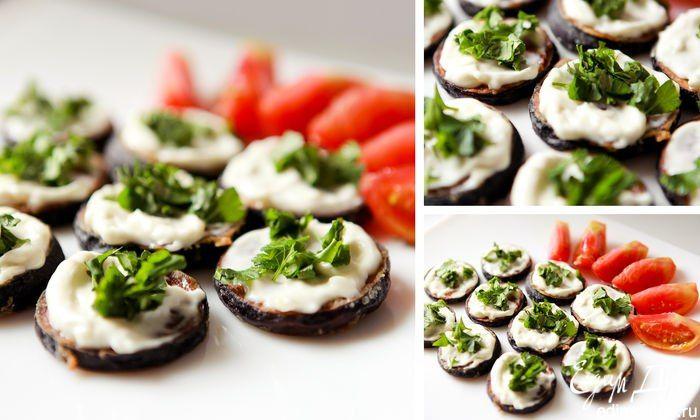 Жареные баклажаны под чесночным соусом. Отличная закуска на все случаи жизни. #edimdoma #recipe #cookery