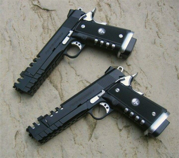 Custom Punisher 1911 Pistols