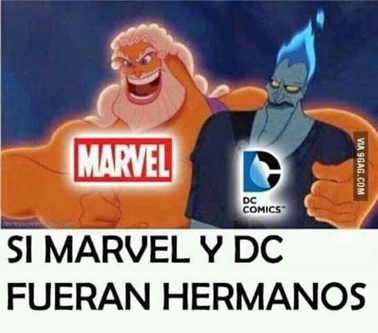 """""""Marvel ve DC kardeşlerse"""""""