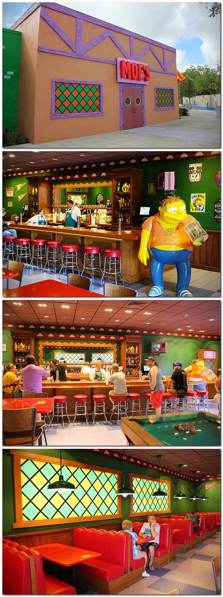 #THESIMPSONS : Moe's Tavern At Universal Studios Florida.