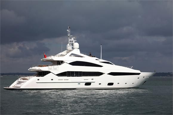Sunseeker 40 Metre Yacht, one of the best boats ever to be produced by the Sunseeker international team!