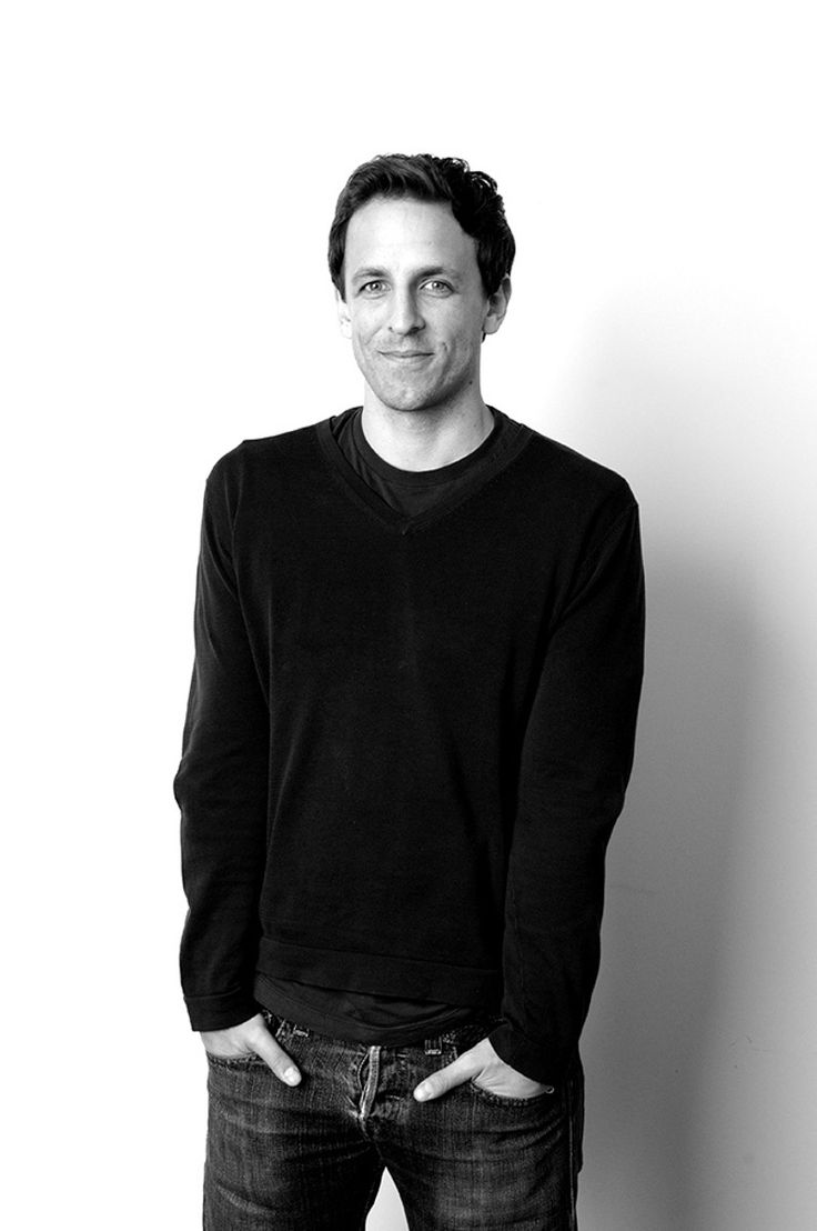 "Seth Meyers:  ""When you work with the sort of really strong women that I work with, the idea that anyone would want to make decisions for them is hard to wrap your head around."""