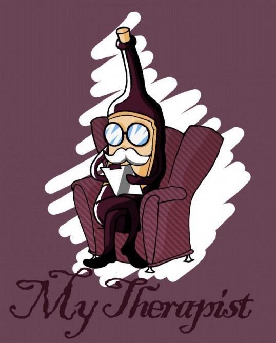 My therapist...