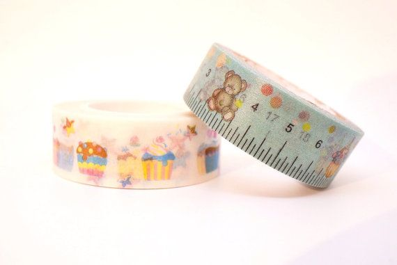 Kawaii 10m high quality WASHI tape stationery by MyChildhoodDream