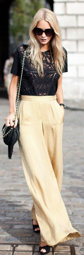 Emmy DE * Palazzo Pants With Long Shirts Trends 2014 For Girls