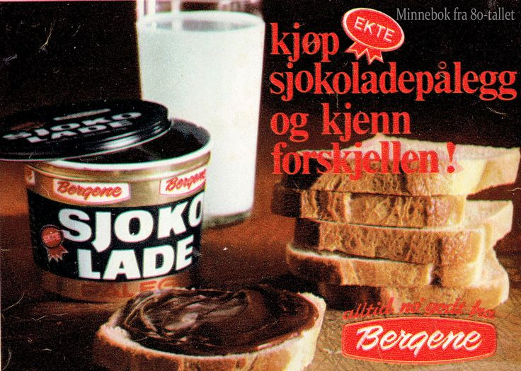 Sjokoladepålegg med ekte sukker:)