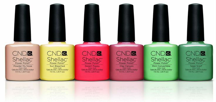 CND Creative Nail Design Shellac - Open Road Collection