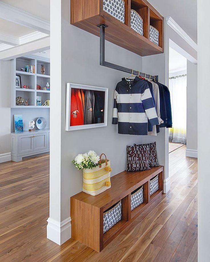 WEBSTA @ Ruemagazine   No Coat Closet, No Problem! Such A Rad Solution Byu2026