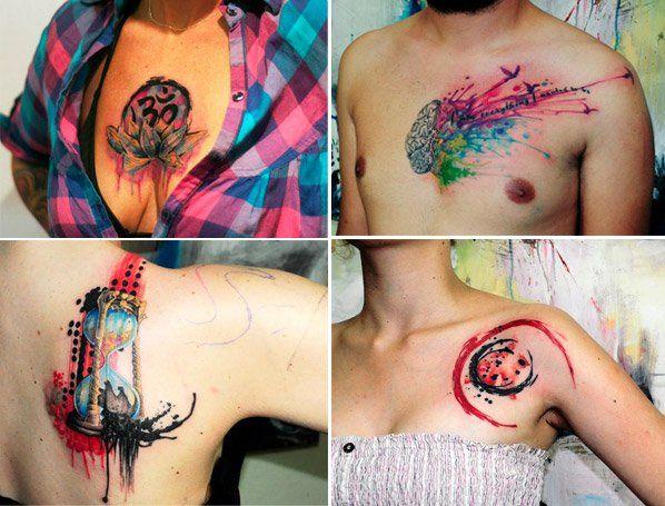 Mais um talento da arte na pele captado pelo radar do Hypeness - conheça o trabalho do artista turcoKoray Karagözler, que cria desenhos cheios de cores inspirados em aquarelas. Veja algumas das tatuagens mais bacanas que separamos:Confira mais trabalhos do artista em seu Facebook.