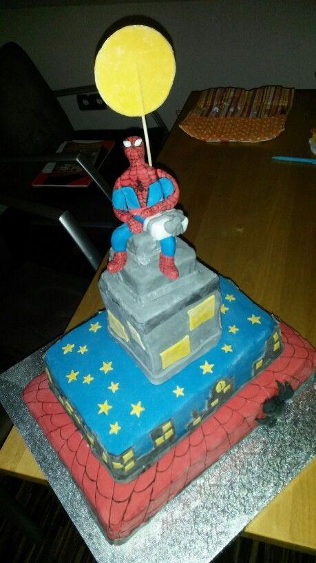 Spiderman Torte
