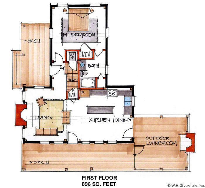 68 Best Log Home Plans And Elevations Images On Pinterest