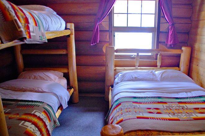 Bedrooms in Sundance Lodge, Banff National Park