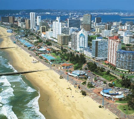Durban, KwaZulu-Natal, South Africa: Durban on South Africa's Riviera is blessed with golden beaches and warm waters.