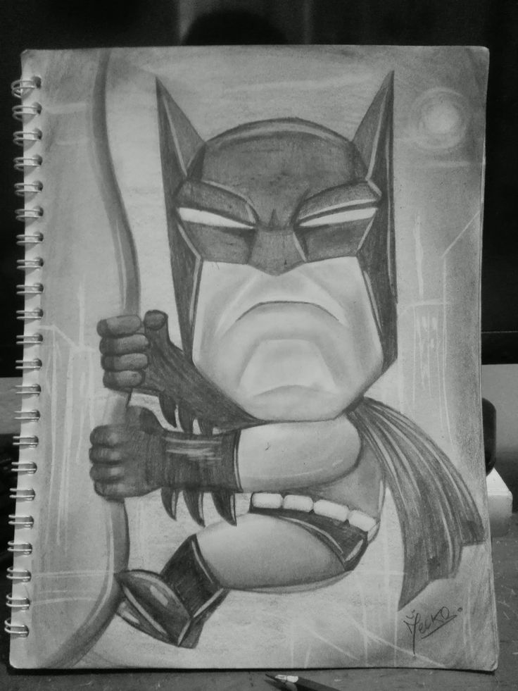 #Batman #Cartoon #draw #art
