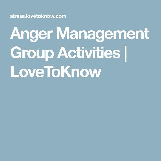 Anger Management Group Ideas 92