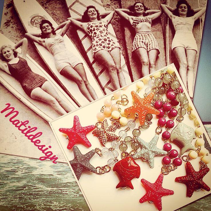 Summer bracelet by matildesign Made in Italy fashion jewelry, bijoux, bracciali