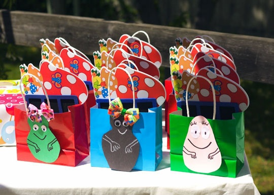 A Barbapapa party. AKA a party based on a little known show. I love it!