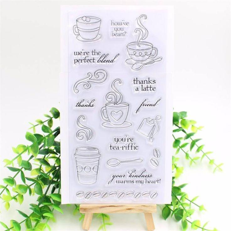 Carimbo CAFÉ  CR00500  tamanho da cartela 10cm x 20m, são desenhos individuais. Podem ser destacados separadamente Este produto você encontra nas lojas Bala Mental,entre em contato conosco em nossa fan page: