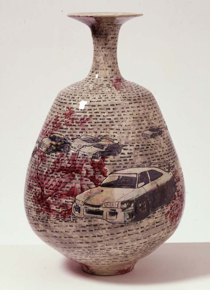 All Men are Bastards, Grayson Perry ~ 2001, earthenware, 45 x 27 x 27 cm