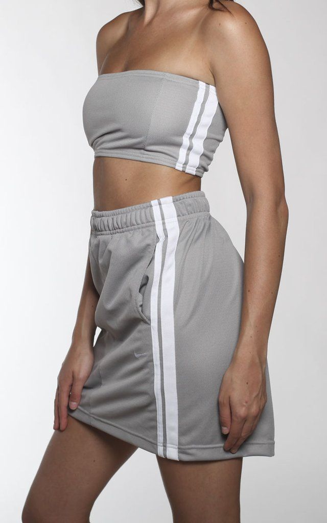 Vintage Re-Work Nike Skirt Set
