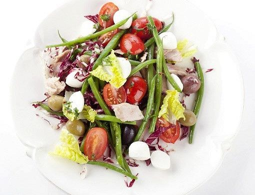 Салат с фасолью и моцареллой рецепт – вегетарианская еда: салаты. «Афиша-Еда»