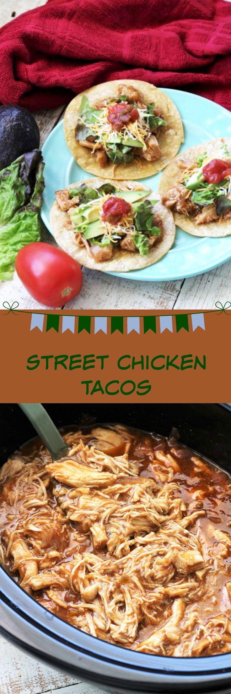 Street Chicken Tacos, Recipe Treasures