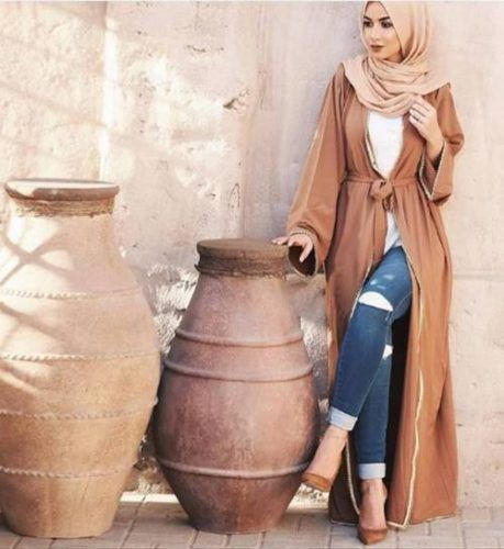 tan-open-abaya-style                                                                                                                                                                                 More