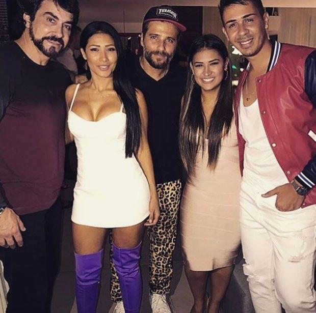 Padre Fábio de Melo, Simaria, Bruno Gagliasso, Simone e Carlinhos Maia (Foto: Reprodução/Instagram)