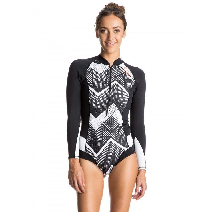 Womens Pop Surf 1mm Long Sleeve Springsuit