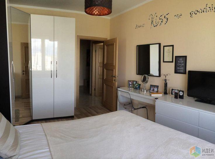 Светлая спальня, красивые спальни фото