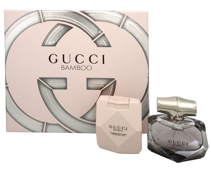 Gucci Gucci Bamboo - parfémová voda s rozprašovačem 50 ml   tělové mléko 100 ml