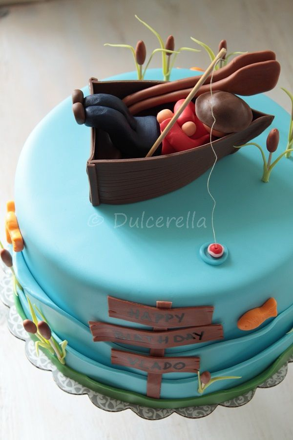 32 best Tortk pecsoknak images on Pinterest Fishing cakes
