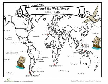 the voyage of magellan student centered resources free printables and geography. Black Bedroom Furniture Sets. Home Design Ideas