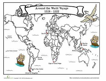 the voyage of magellan worksheets voyage and reading comprehension. Black Bedroom Furniture Sets. Home Design Ideas