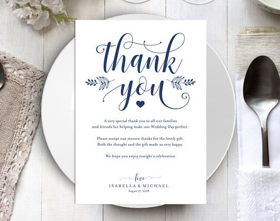24 Best Thank You Cards Images On Pinterest