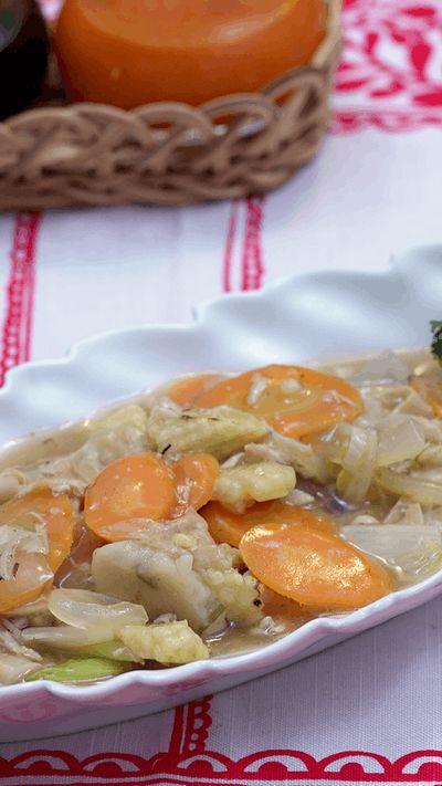 "Istilah capcai sendiri diambil dari bahasa Hokkian Cap yang artinya ""sepuluh"" dan Cai yang artinya ""sayuran"" yang berarti makanan yang terdiri dari banyak jenis sayuran yang kemudian dicampur menjadi satu"