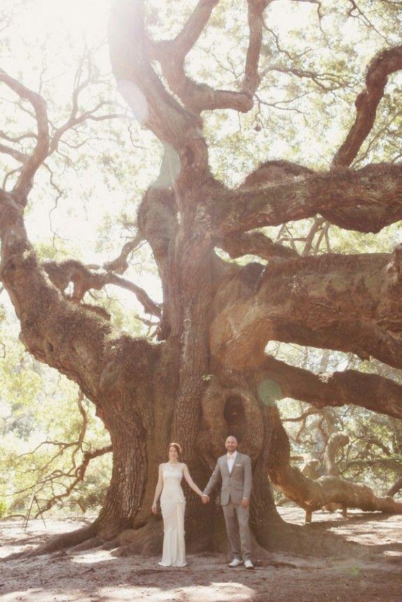 Rustic Charleston Weddings – Magnolia Plantation and Gardens – Angel Oak – Amelia + Dan Photography – Ooh! Events