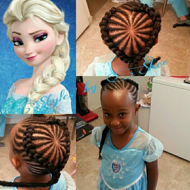 185 best baby girl braids images on pinterest hairstyles little my version of elsa ccuart Choice Image