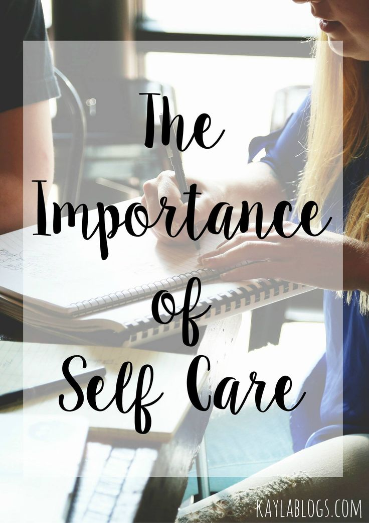 The Importance of Self Care We, The o'jays and Blog