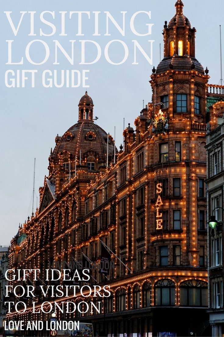 Gift Guide for Visitors to London - great gift ideas for anyone who's traveling to London soon. They'll love getting one of these gifts to use on their trip in London!