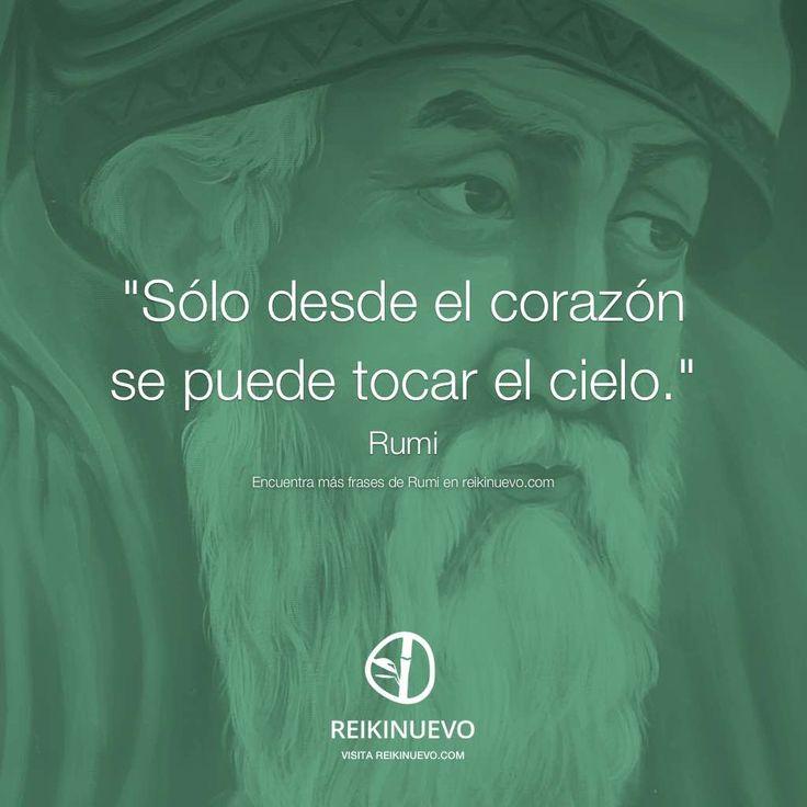 Si deseas tocar el cielo, sigue el consejo de Rumi... http://reikinuevo.com/rumi-tocar-el-cielo/