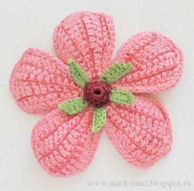 882 Best Crochetflowersleaves Images On Pinterest Crochet