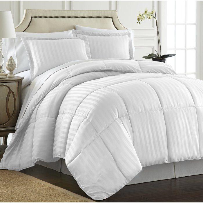 Ebern Designs Cagle Down Alternative Reversible Comforter Set Reviews Wayfair Comforter Sets Home Comforters