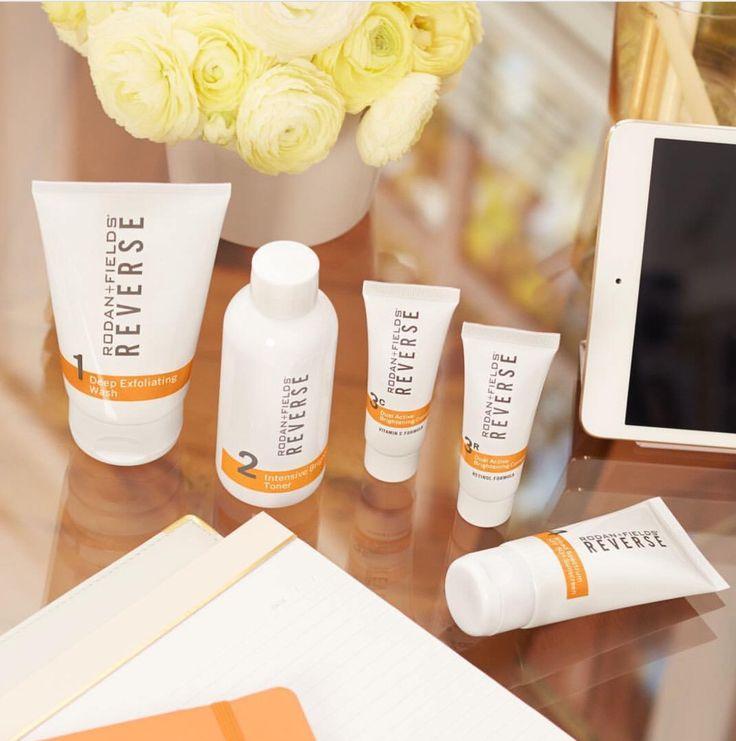 Say goodbye to sundamage, age spots and Melasma... Rodan+Fields Reverse regimen for lighter, brighter skin.
