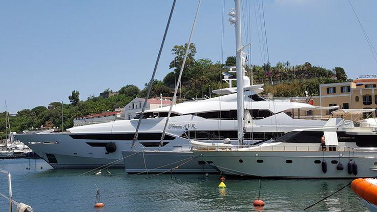 M/Y Princess AVK in Porto d'Ischia