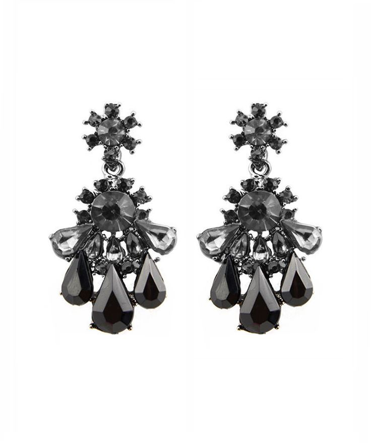 Earrings : Black Nightfall Earrings