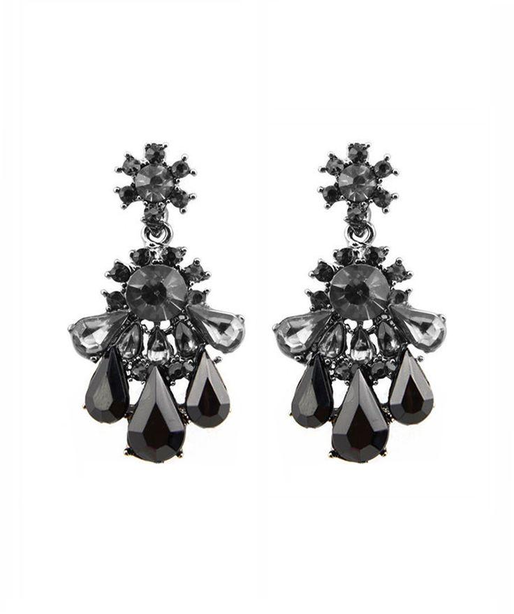 Earrings : Black Nightfall Earrings