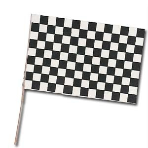 """Racing Flags (11"""" x 17"""") All Weather Plastic"""