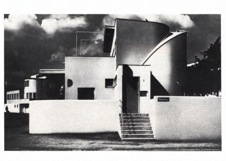 hans scharoun house of the exhibition - Modern Architecture Exhibition