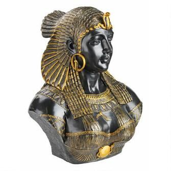 Queen Cleopatra Neoclassical Sculptural Bust $149.00